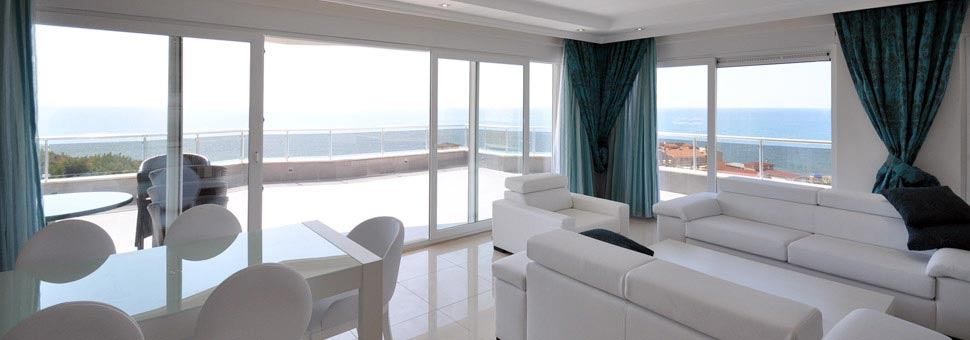 Open Seaview Penthouses in Alanya